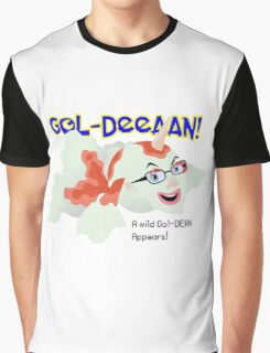 A wild Gol-Dean appears! Graphic T-Shirt