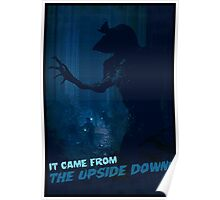 It Came from the Upside Down Poster