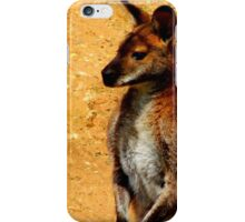 Standing Wallaby iPhone Case/Skin