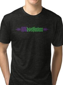 OMGhostHostess by Topher Adam Tri-blend T-Shirt