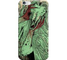heartless ram faced lady iPhone Case/Skin