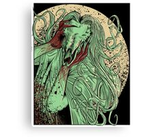 heartless ram faced lady Canvas Print