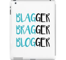 Blag Brag Blog iPad Case/Skin