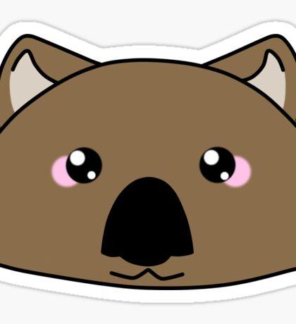 Just a very cute wombat -  Australian animal design Sticker
