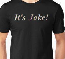 """It's Joke!"" - Mari Ohara Unisex T-Shirt"