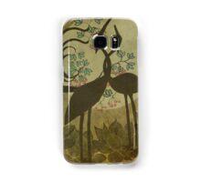 Cranes in Eternal Love Samsung Galaxy Case/Skin