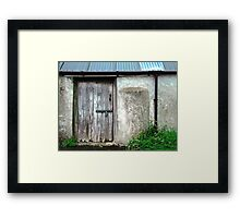 Old shed - Ramelton, County Donegal, Ireland Framed Print