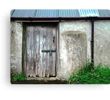 Old shed - Ramelton, County Donegal, Ireland Canvas Print
