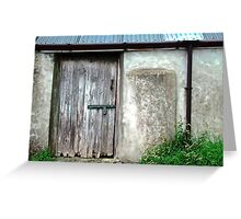Old shed - Ramelton, County Donegal, Ireland Greeting Card