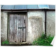Old shed - Ramelton, County Donegal, Ireland Poster