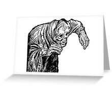 Zombie Creep Greeting Card