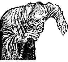 Zombie Creep Photographic Print