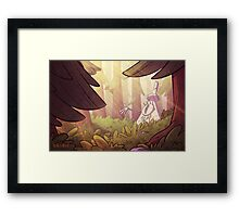 Colors panel 55 Framed Print