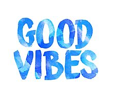 good vibes free spirit laptop sticker Photographic Print
