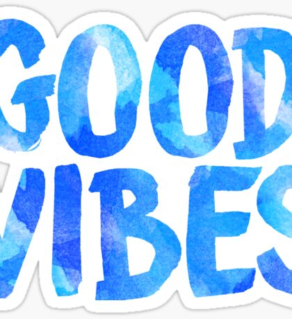 good vibes free spirit laptop sticker Sticker