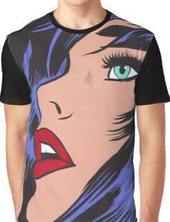 Babe Comic Girl Graphic T-Shirt