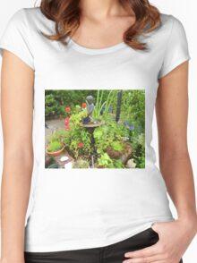 Willow Tea Rooms Garden Women's Fitted Scoop T-Shirt