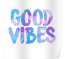 Good vibes laptop sticker free spirit trendy  Poster