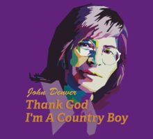 John Denver ~ Thank God I'm A Country Boy by vdezine