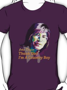 John Denver ~ Thank God I'm A Country Boy T-Shirt
