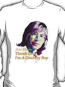 John Denver ~ Thank God I'm A Country Boy T-Shirt