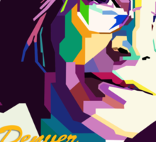 John Denver ~ Thank God I'm A Country Boy Sticker
