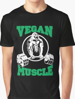 Vegan Muscle Graphic T-Shirt