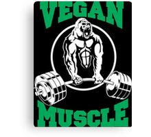 Vegan Muscle Canvas Print