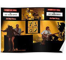 The Last Shadow Puppets- Webster Hall Collage Poster