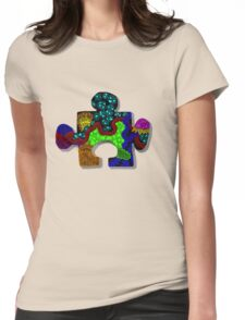 Piece of the Puzzle Womens Fitted T-Shirt