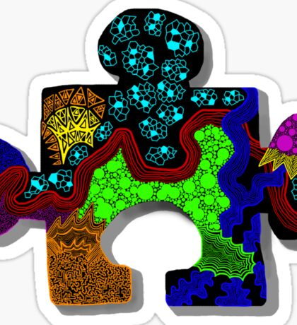 Piece of the Puzzle Sticker