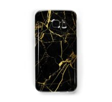 Black and Gold Marble iPhone Case Samsung Galaxy Case/Skin