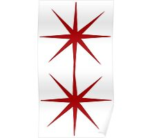 Red Star sign Poster