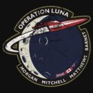 Journey Into Space - Operation Luna Mission Patch - Distressed by TGIGreeny