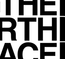 the north face Sticker
