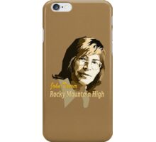 John Denver ~ Rocky Mountain High iPhone Case/Skin