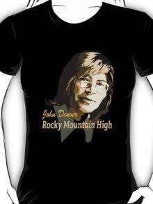 John Denver ~ Rocky Mountain High T-Shirt