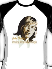 John Denver ~ Rocky Mountain High T-Shirt