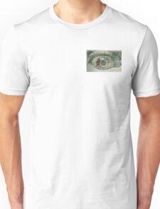 Eye and pen print Unisex T-Shirt