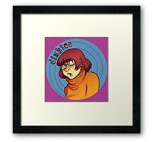 Scooby Doo - Velma Dinkley  Framed Print