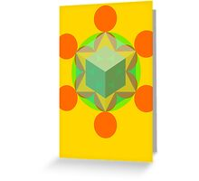 Flower of life 01 Greeting Card