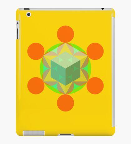 Flower of life 01 iPad Case/Skin