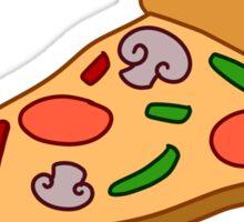 Mushroom Pizza Slice Sticker
