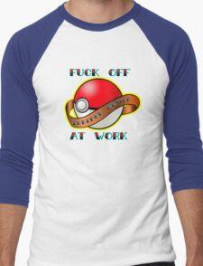 Pokemon master Men's Baseball ¾ T-Shirt