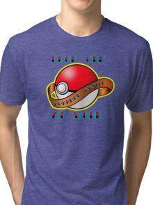 Pokemon master Tri-blend T-Shirt
