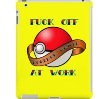 Pokemon master iPad Case/Skin