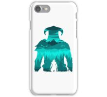 Dragonborn Silhouette iPhone Case/Skin