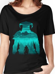 Dragonborn Silhouette Women's Relaxed Fit T-Shirt