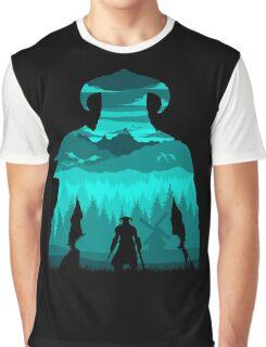 Dragonborn Silhouette Graphic T-Shirt