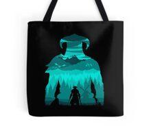 Dragonborn Silhouette Tote Bag